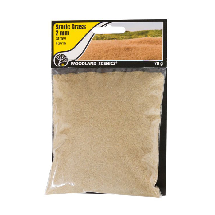 Static Grass Medium Straw 2mm